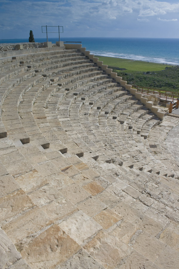 Kourion theatre stock photos