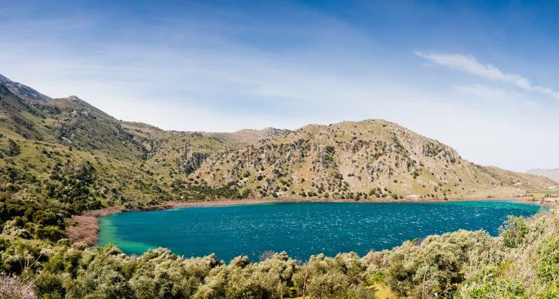 Kourna Lake stock photos