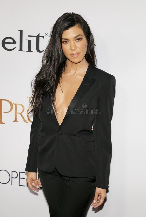Kourtney Kardashian royalty-vrije stock fotografie