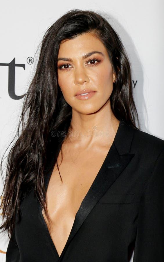 Kourtney Kardashian royalty free stock images