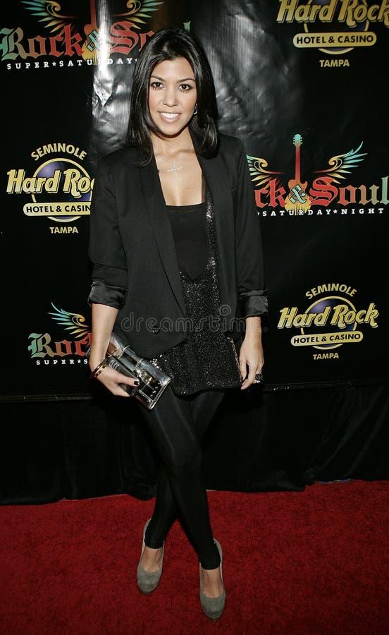 Kourtney Kardashian no tapete vermelho fotos de stock
