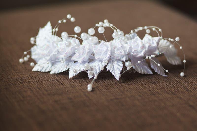 kouseband van de bruid stock afbeeldingen