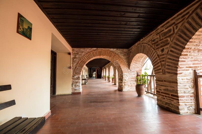 Koutloumousiou monaster na górze Athos zdjęcie stock