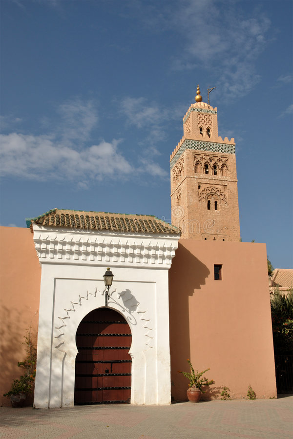 Download Koutoubia Mosque In Marrakech Stock Photo - Image: 7341440