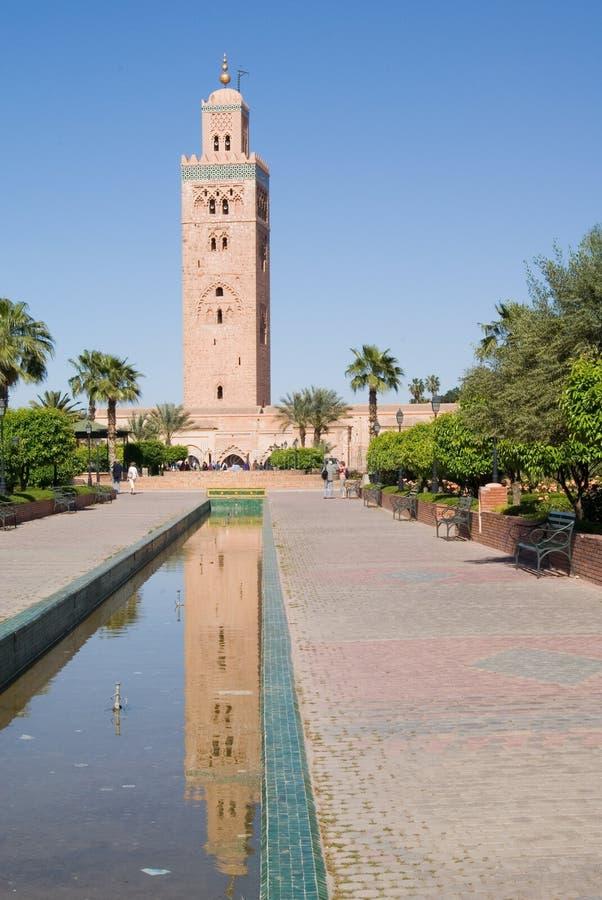koutubia meczetu zdjęcia royalty free
