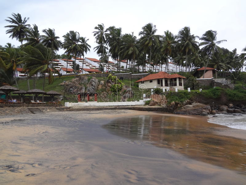 Kovalam Beach 2 royalty free stock photography