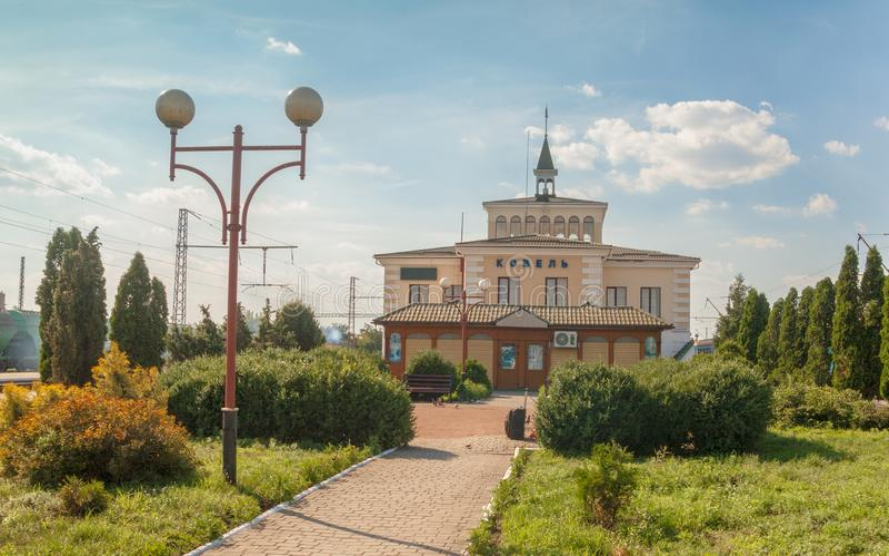 KOVEL, UCRANIA: Ferrocarril de Kovel foto de archivo