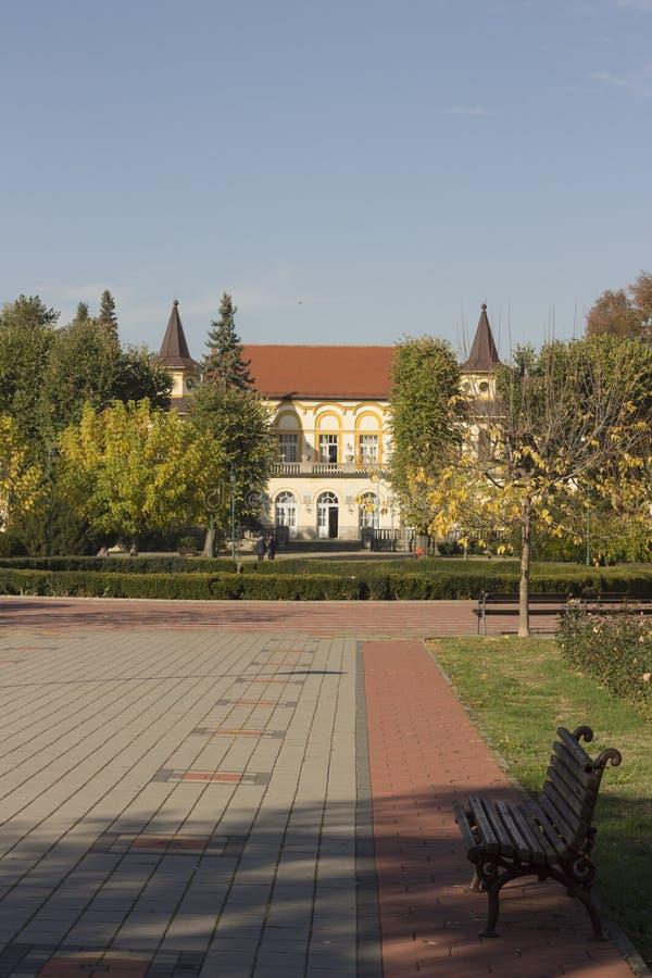 Koviljaca-Badekurort bei Loznica stockbilder