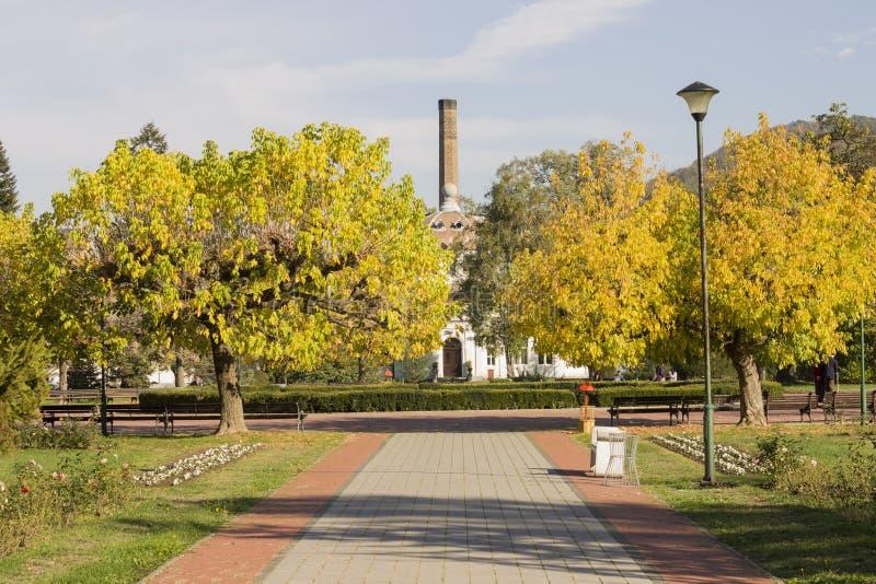 Koviljaca-Badekurort bei Loznica lizenzfreie stockfotos