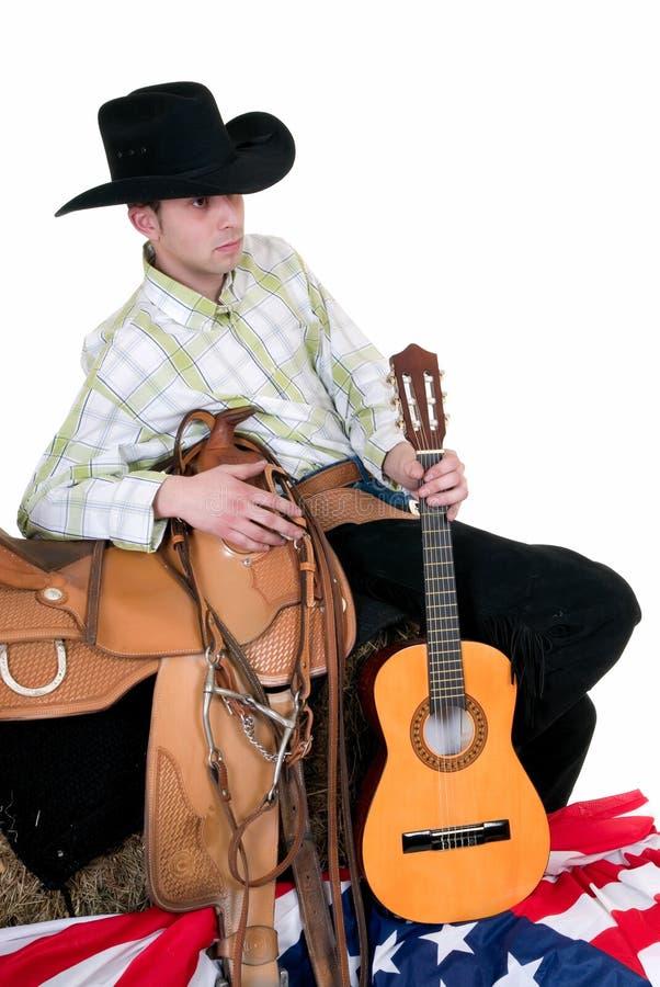 kowboj czwartego Lipca fotografia royalty free