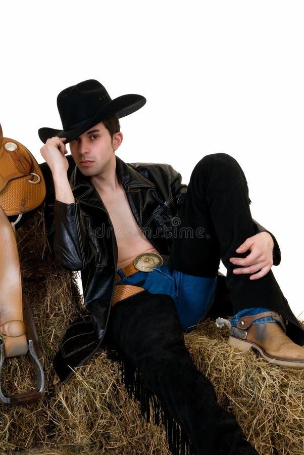 kowboj siano zdjęcia royalty free