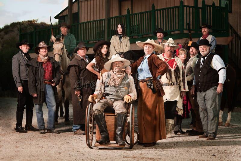 kowboj zdradzony w obraz royalty free