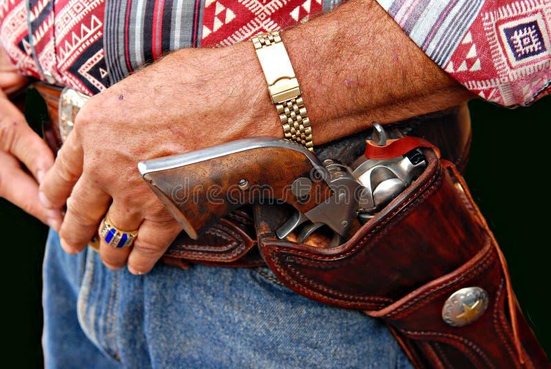 kowboja broń obraz stock