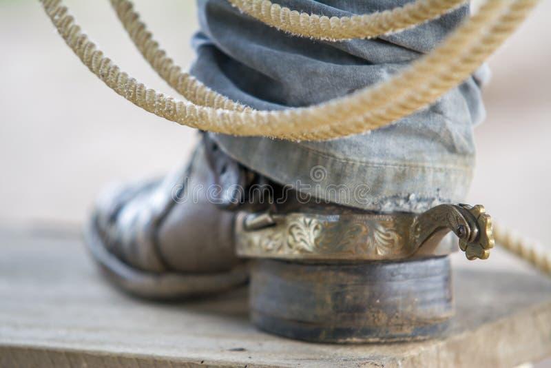 Kowbojscy buty zdjęcia royalty free