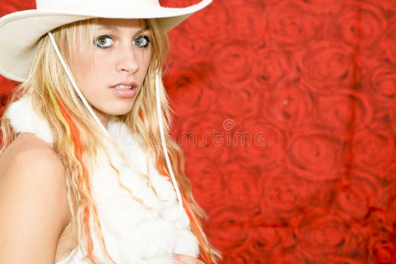 kowbojska dziewczyna zdjęcia royalty free