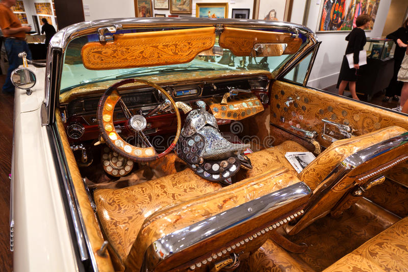 Kowbojski samochód obrazy stock