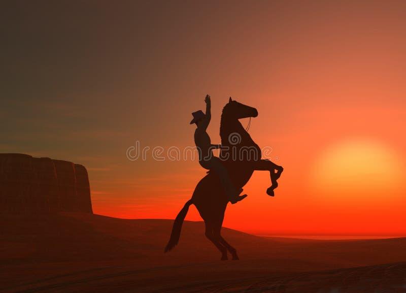 kowboju. ilustracja wektor