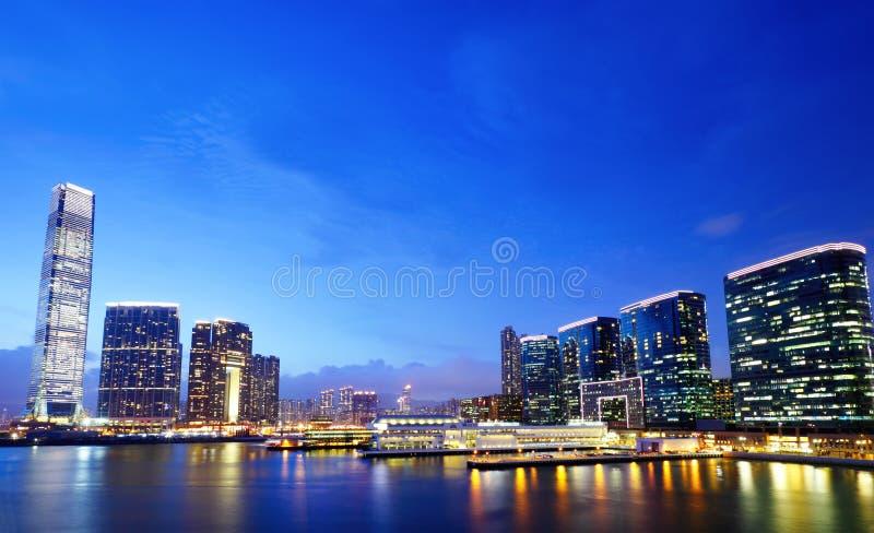 Kowloon de stad in stock fotografie