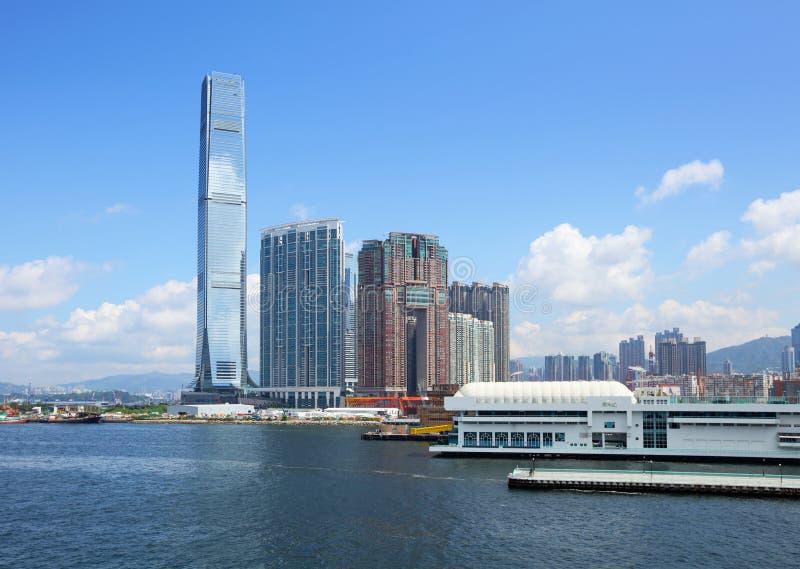 Kowloon de stad in royalty-vrije stock foto