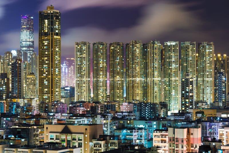 Kowloon du centre en Hong Kong image stock