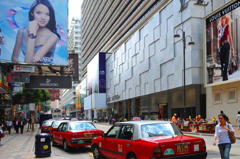 Kowloon - Hongkong royalty-vrije stock fotografie