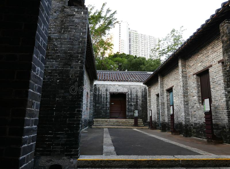 Kowloon a muré la ville photo stock