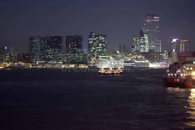 Download Kowloon at night stock photo. Image of light, skyline - 11700112