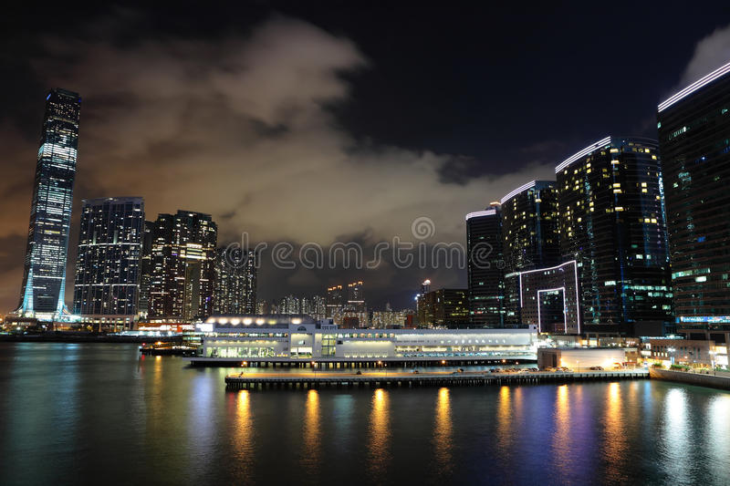 Download Kowloon At Night Stock Images - Image: 19817204