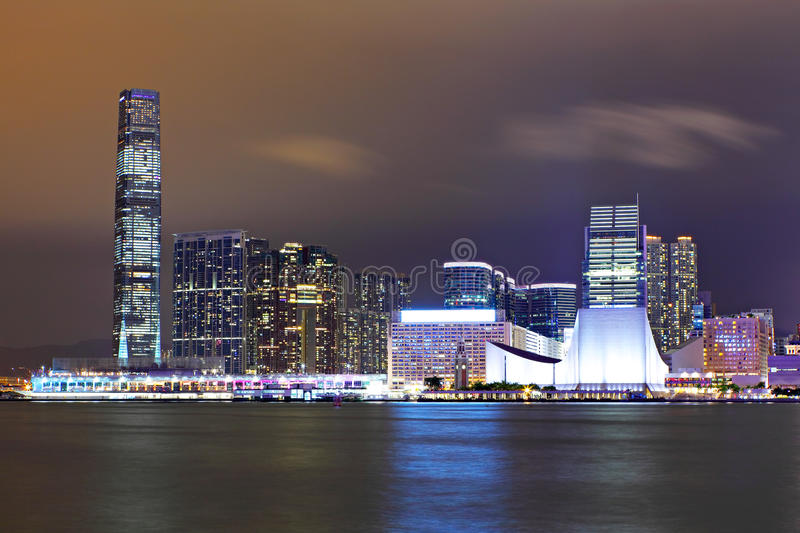 Download Kowloon at night stock image. Image of cityscape, landscape - 21979209