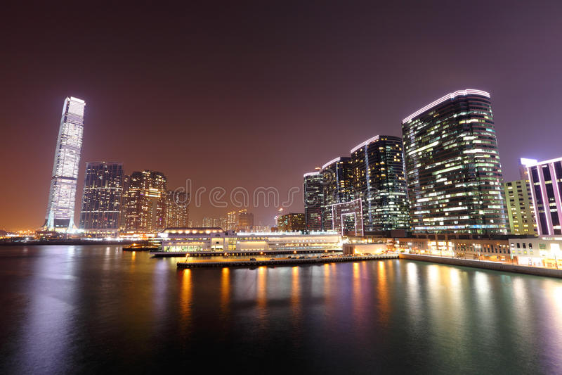 Download Kowloon at night stock image. Image of colorful, china - 24358019