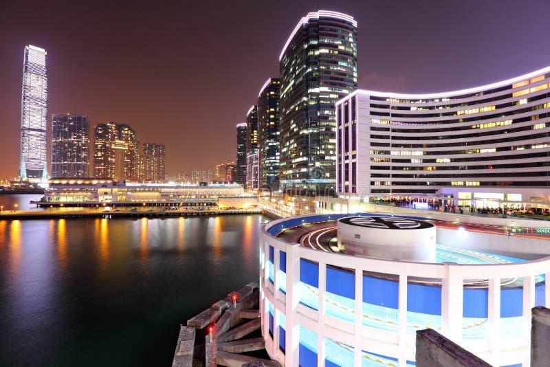 Download Kowloon at night stock image. Image of hongkong, modern - 26498869