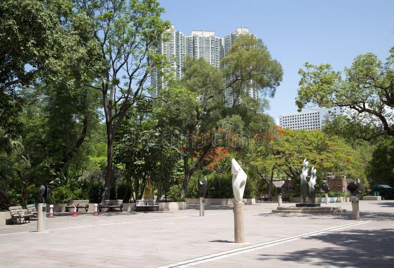 Kowloon park w mieście Hongkong Chiny Azja fotografia stock