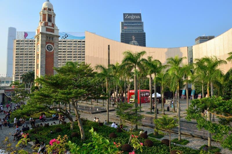 Kowloon Public Pier, Hong Kong royalty free stock photos