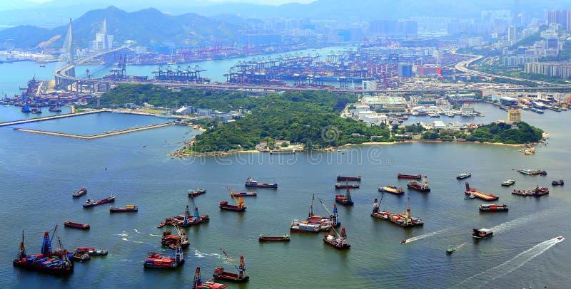 Kowloon y nuevos territorios, Hong-Kong fotografía de archivo libre de regalías