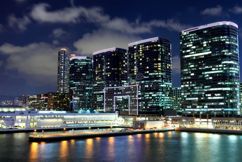 Kowloonkant in Hong Kong stock afbeeldingen