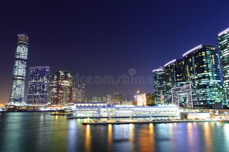 Kowloonkant in Hong Kong royalty-vrije stock afbeeldingen