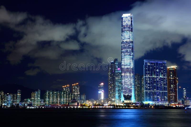 Kowloonkant in Hong Kong royalty-vrije stock afbeelding