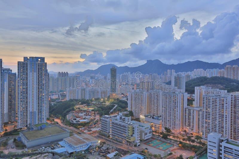 Kowloonkant in Hong Kong royalty-vrije stock fotografie