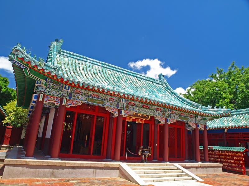 koxinga świątynia Tainan obraz stock