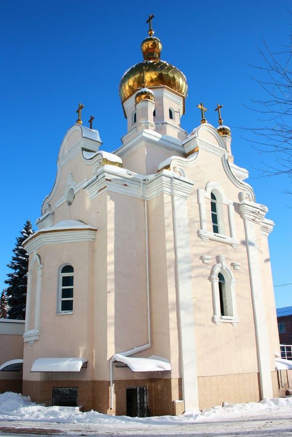 Kozacki kościół narodzenie jezusa zdjęcie royalty free