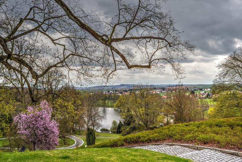 Kozel-Schloss, Tschechische Republik lizenzfreies stockbild