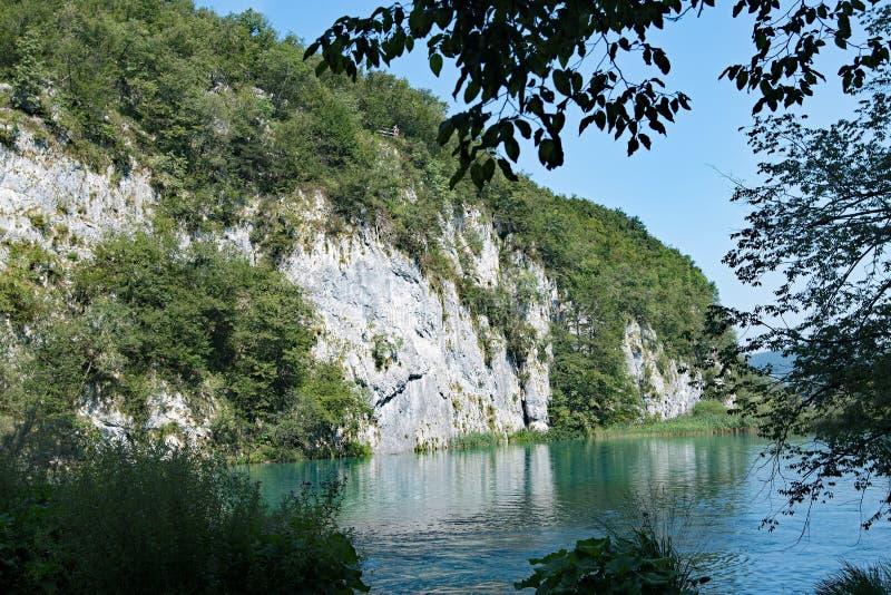 Kozjak в национальном парке озер Plitvice, в Хорватии стоковые изображения rf