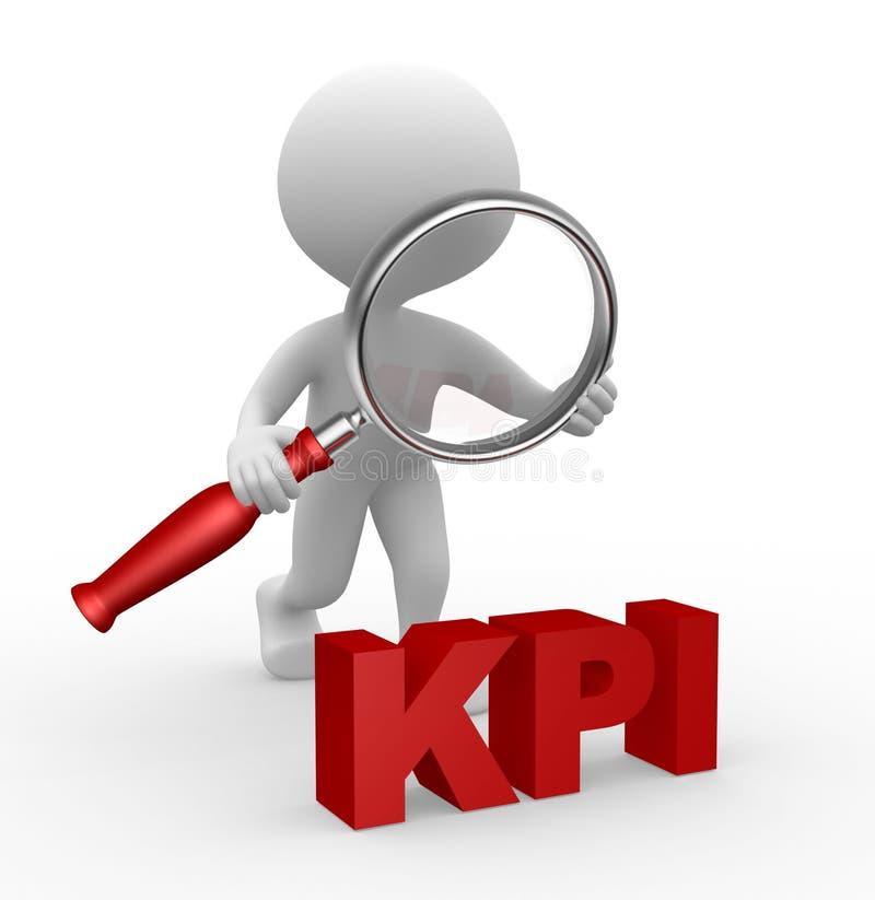 KPI stock illustration