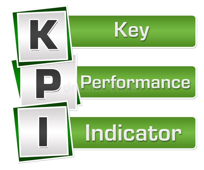 KPI - Gräsplan Grey Squares Vertical för indikator för nyckel- kapacitet vektor illustrationer