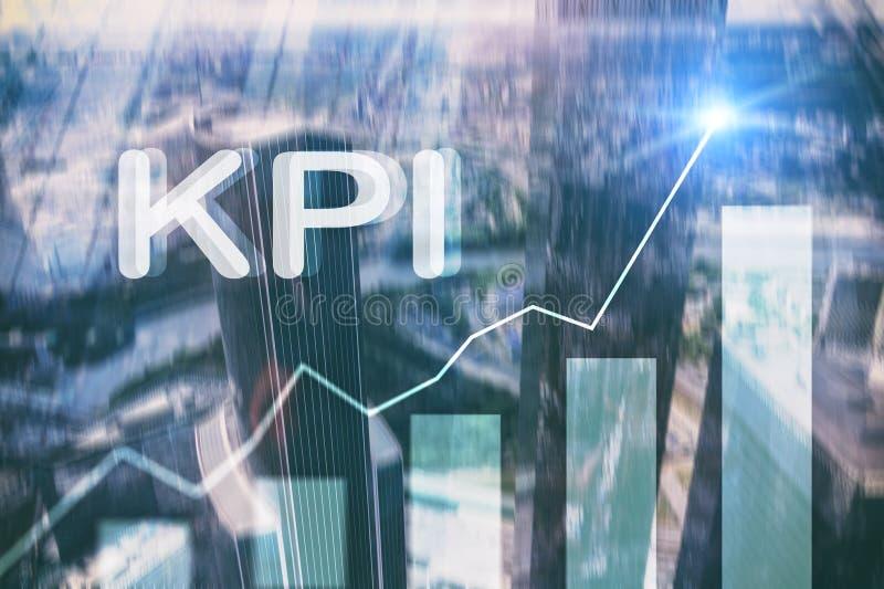 KPI - Indikator för nyckel- kapacitet Affär royaltyfria bilder