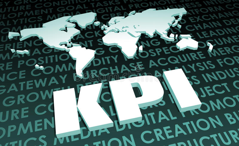 KPI Royalty Free Stock Image