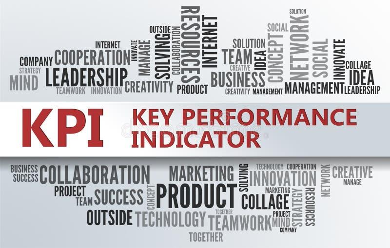 KPI   Zeer belangrijke Prestatie-indicator royalty-vrije stock foto's