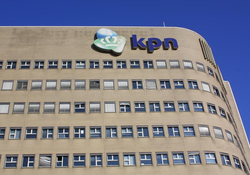 KPN Building. Netherlands stock images