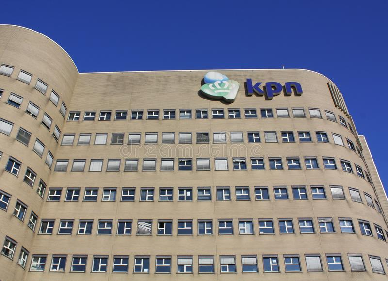 KPN Building. Netherlands stock photography