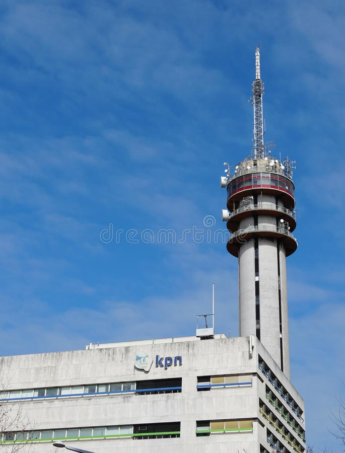 KPN-gebouwen in Nederland royalty-vrije stock foto